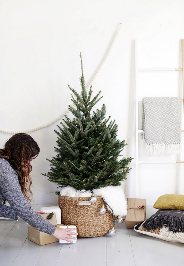 Chic Christmas Tree For Small Spaces