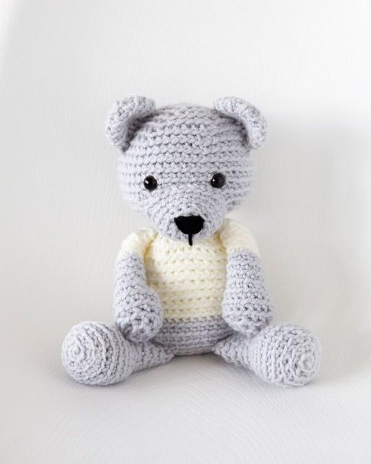 Crochet Teddy Bear Free Pattern
