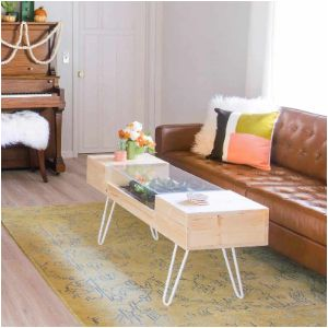 DIY Coffee Table Plans and Ideas