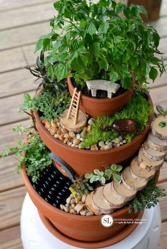 Flower Pot Miniature Fairy Gardens