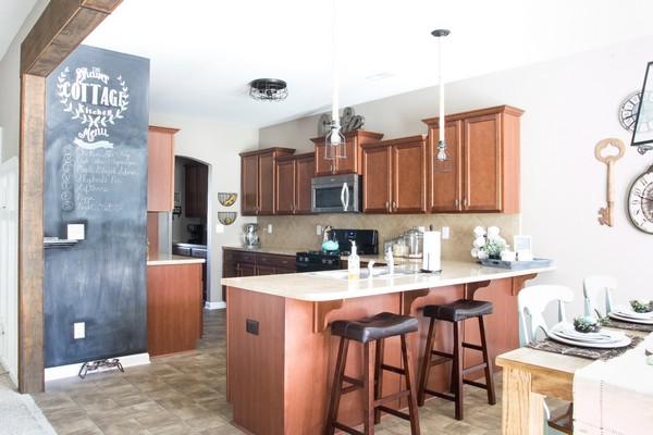 Industrial Farmhouse Kitchen Makeover Plans