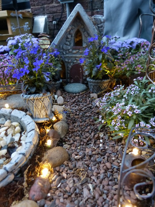 Magical Lights In The Fairy Garden