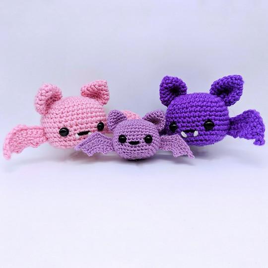 Spooky Batty Bat Free Crochet Pattern
