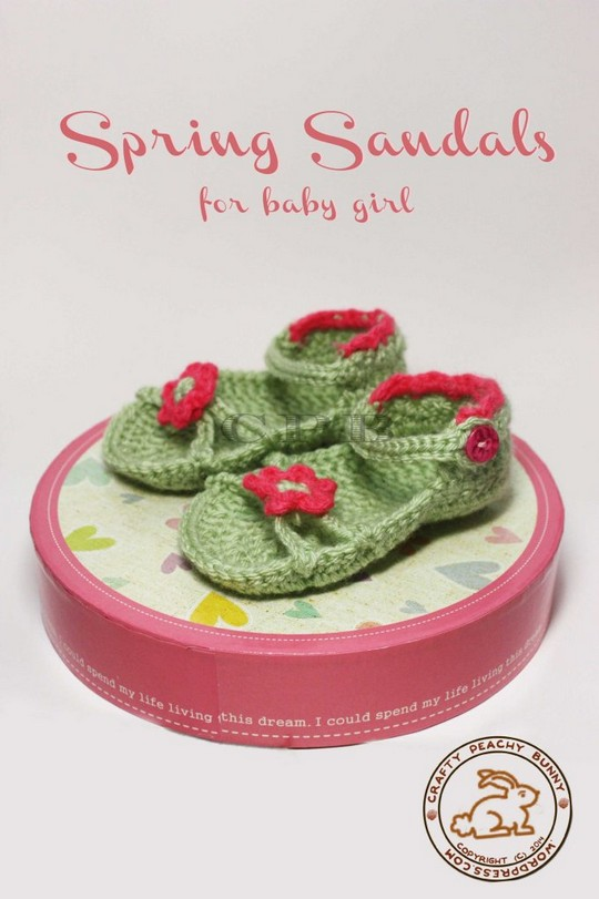 Spring Sandals For Baby