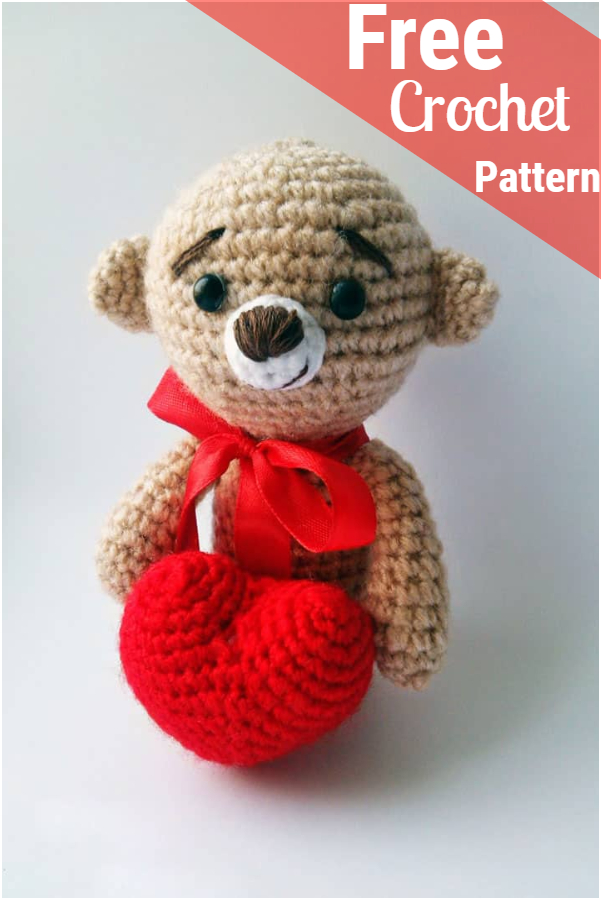 Free Amigurumi Bear Toy Softies Crochet Patterns | 900x601