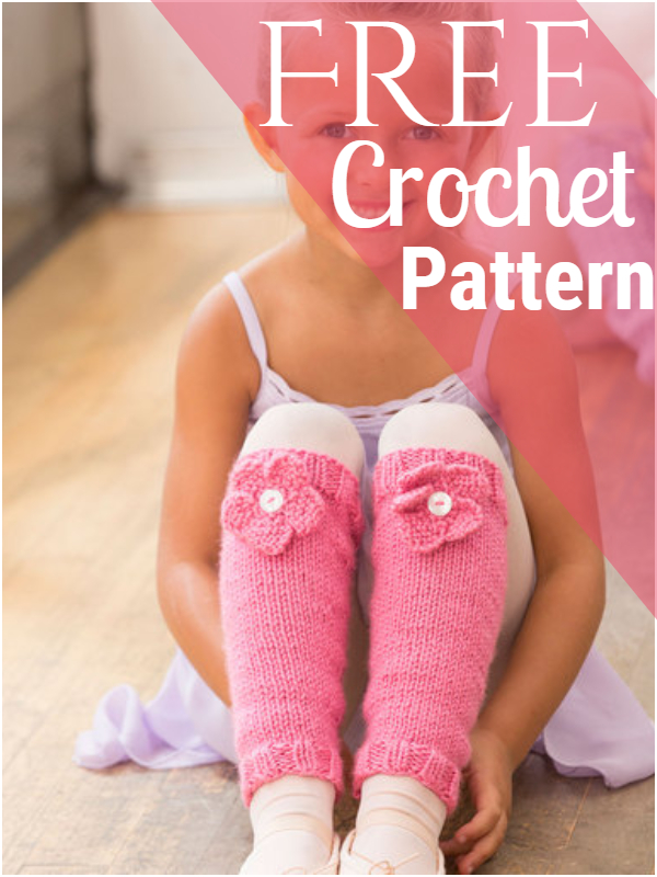 Ballerina Bloom Leg Warmers