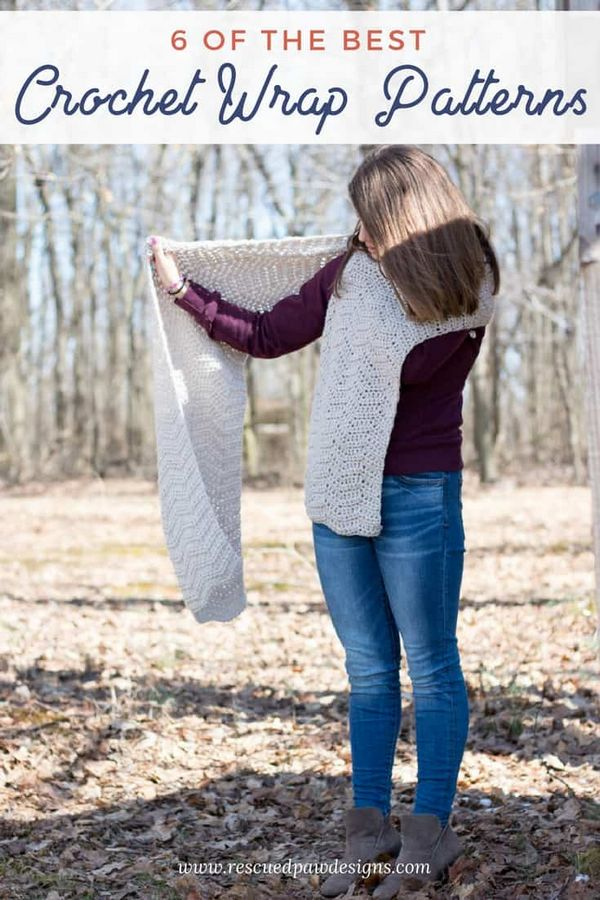 Beautiful Free Crochet Wrap Patterns
