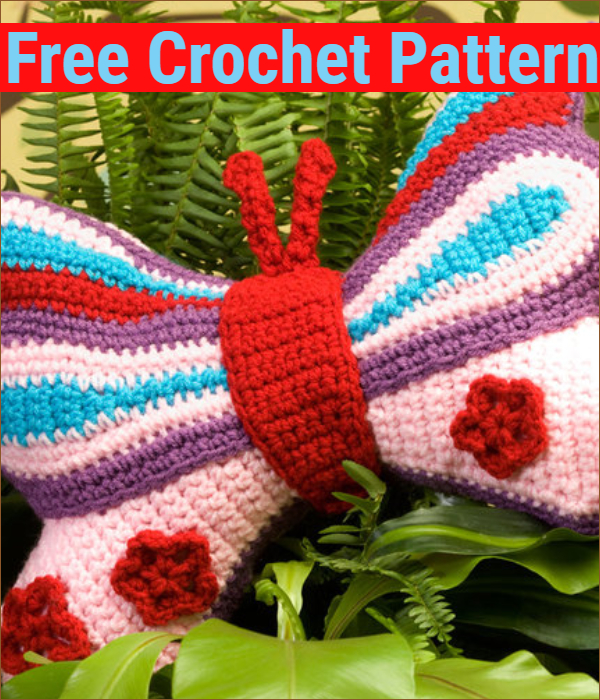 You'll Love These Crochet Butterflies | The WHOot | 700x600