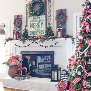 Christmas DIY Farmhouse Décor Ideas