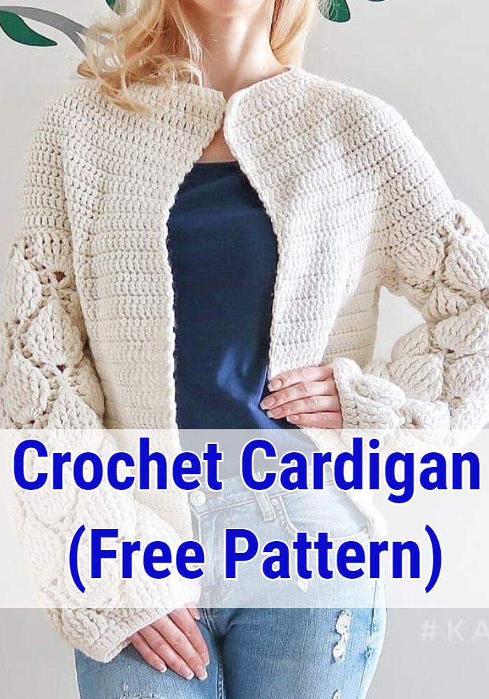 Crochet Cardigan (Free Pattern)