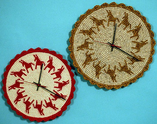 Crochet Clock Faces