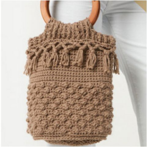 Crochet Clutch Bag And Totes