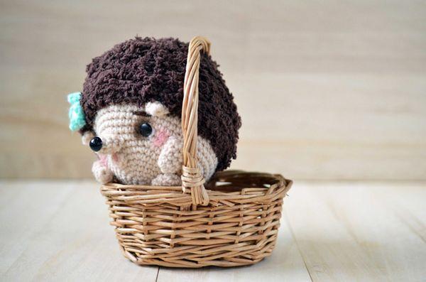 Crochet Hedgehog Amigurumi
