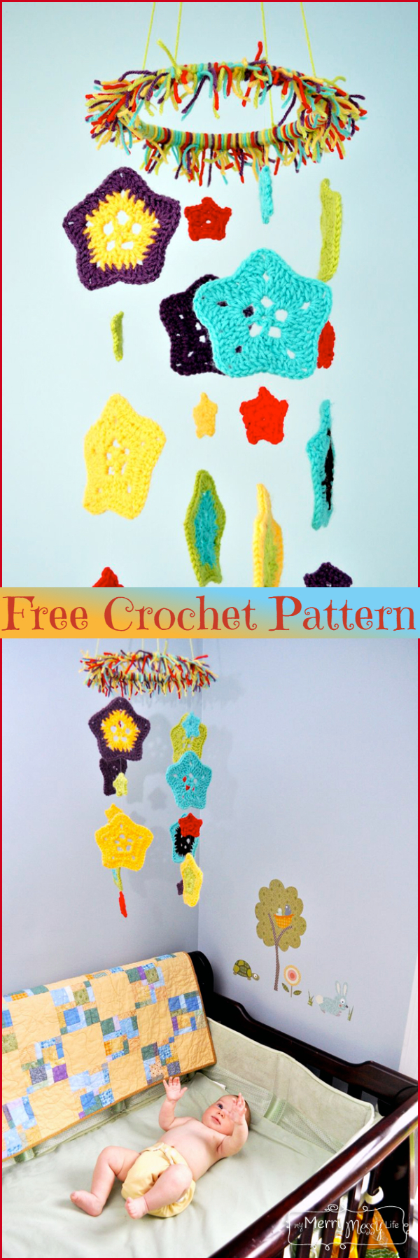 Crochet Star Baby Mobile Free Patterns