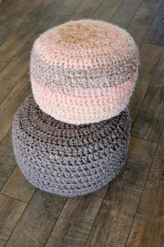 Crocheted Floor Cushions Free Pattern