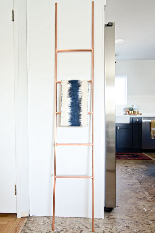 DIY Copper Pipe Ladder