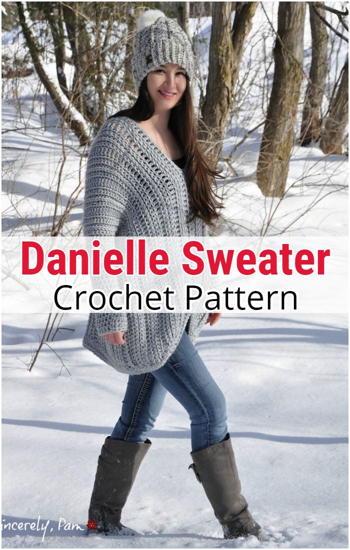 Danielle Sweater Crochet Pattern