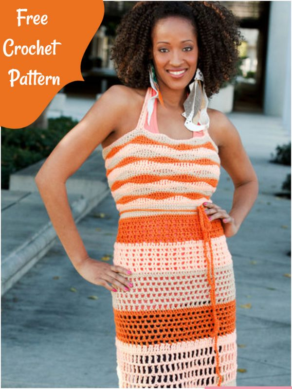 Dreamsicle Apron Top