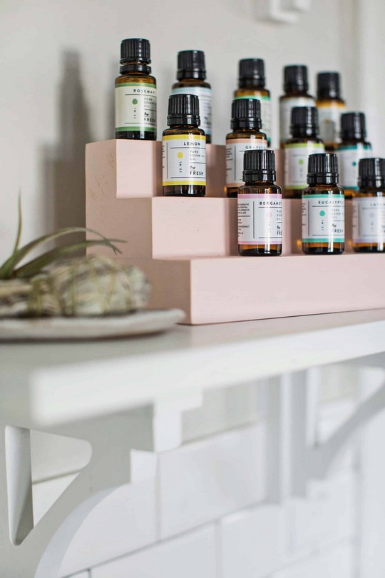 Easy Essential Oil Organizer