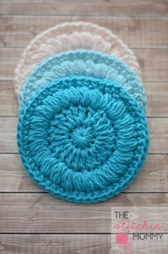 Easy Face Scrubbies Free Pattern