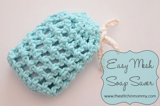 Easy Mesh Soap Saver