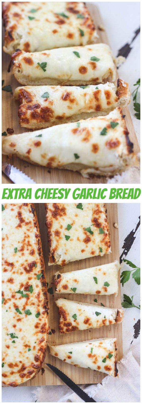 Extra Cheesy Garlic Bread