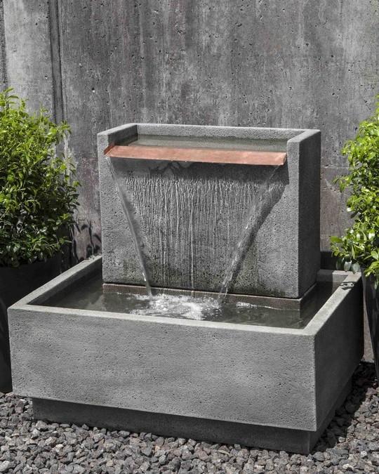 Falling Water Garden Fountain