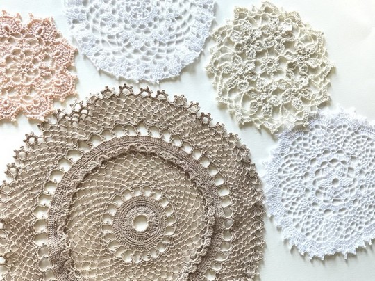 Five Free Crochet Doily Pattern