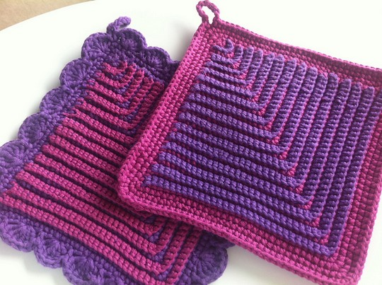 Free Crochet German Potholders