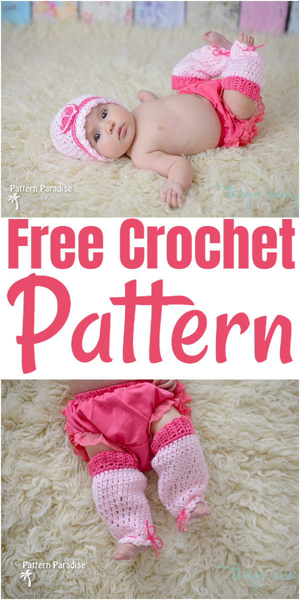 Free Crochet Pattern Sweetheart Leg Warmers