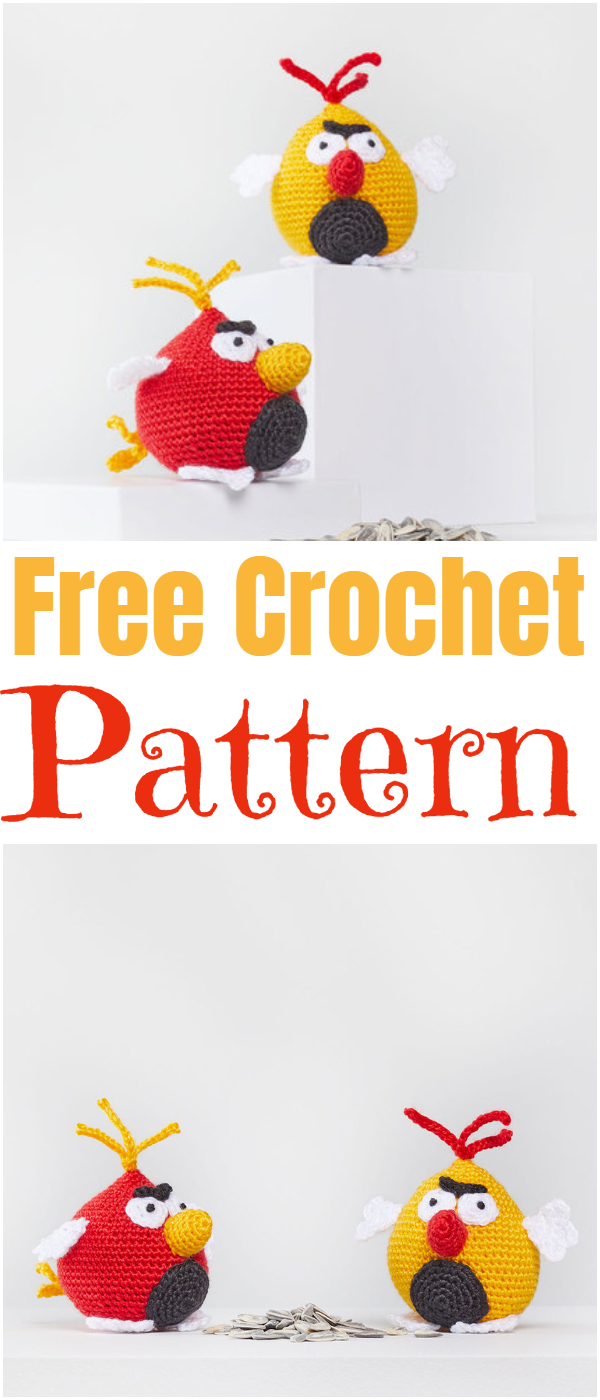 Crochet Bird Amigurumi Free Patterns | Crochet birds, Amigurumi ... | 1400x600