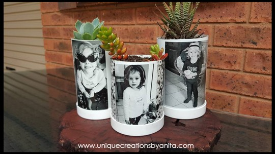 How To Make Pvc Pipe Photo Planters