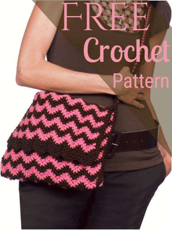 Knit & Crochet Ripple Bags