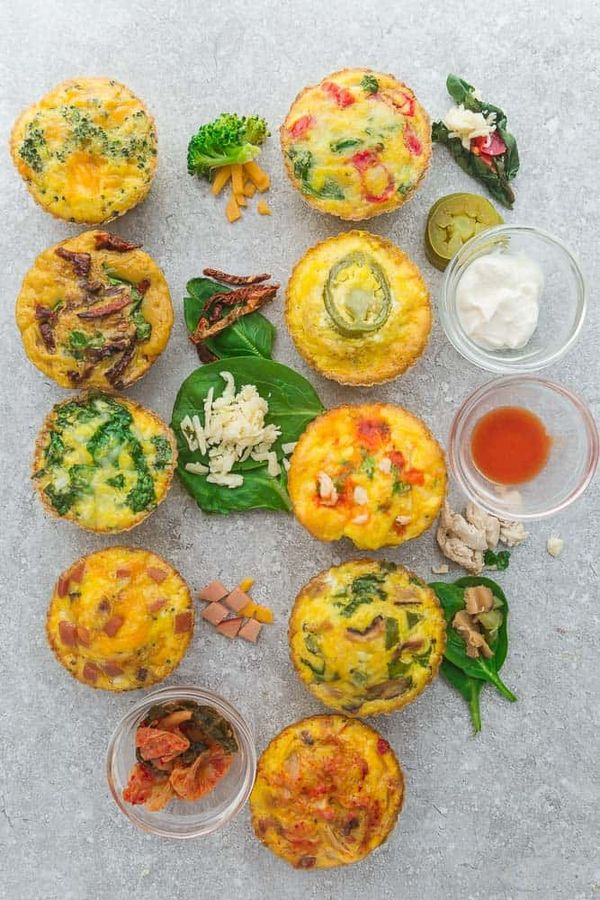 Low Carb Breakfast Egg Cups