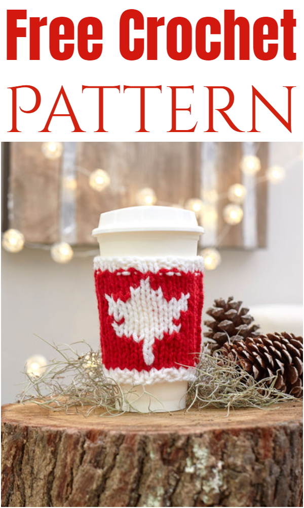 Maple Leaf Cup Cozy