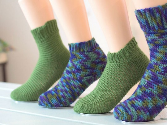 Our Top Tips For Successful Crochet Socks
