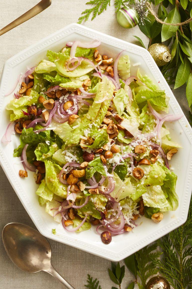 Romaine Salad with Lemon-Pecorino Vinaigrette