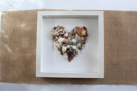 Seashell Art Quick And Easy Diy For Your Home
