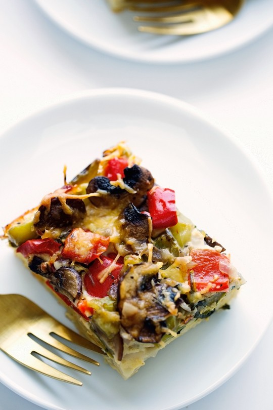 Veggie Loaded Breakfast Casserole