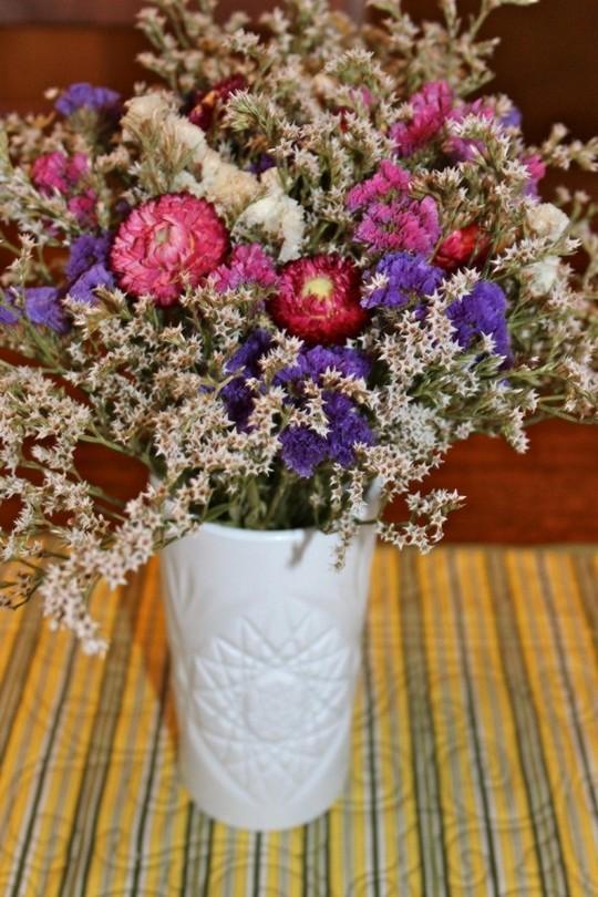 White vase DIY