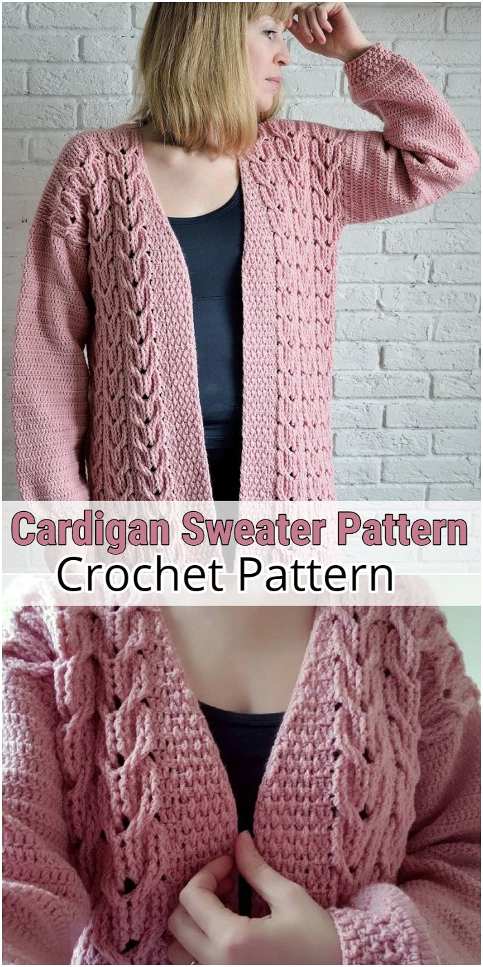 Cardigan Sweater Pattern