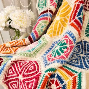 Colorful Crochet Mandala Patterns
