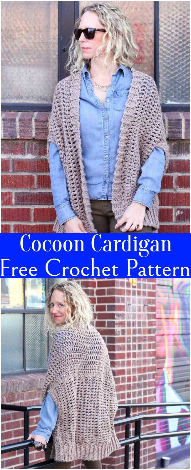 Crochet Cocoon Cardigan Pattern
