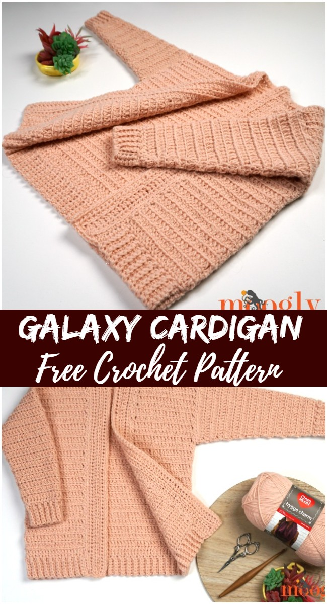 Crochet Galaxy Cardigan Pattern
