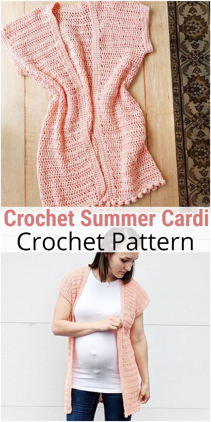 Crochet Summer Cardi
