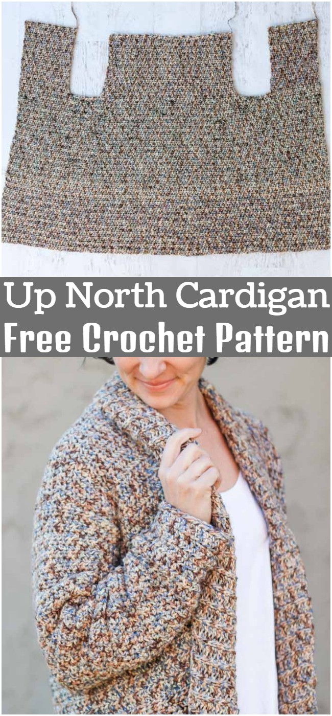 Crochet Up North Cardigan Pattern