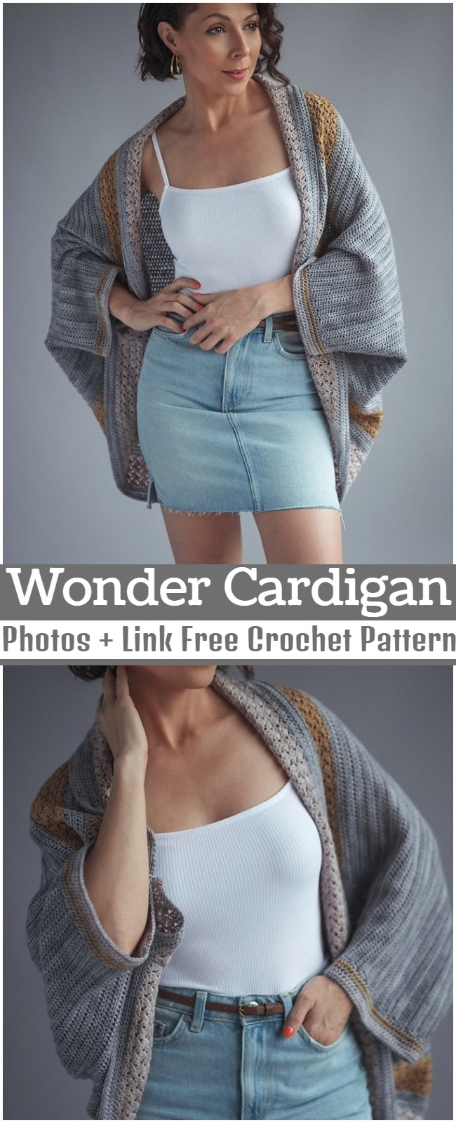 Crochet Wonder Cardigan Pattern