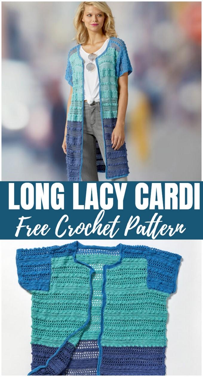 Long Lacy Cardi