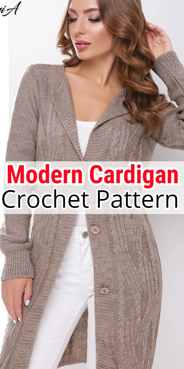 Modern Crochet Cardigan Patterns