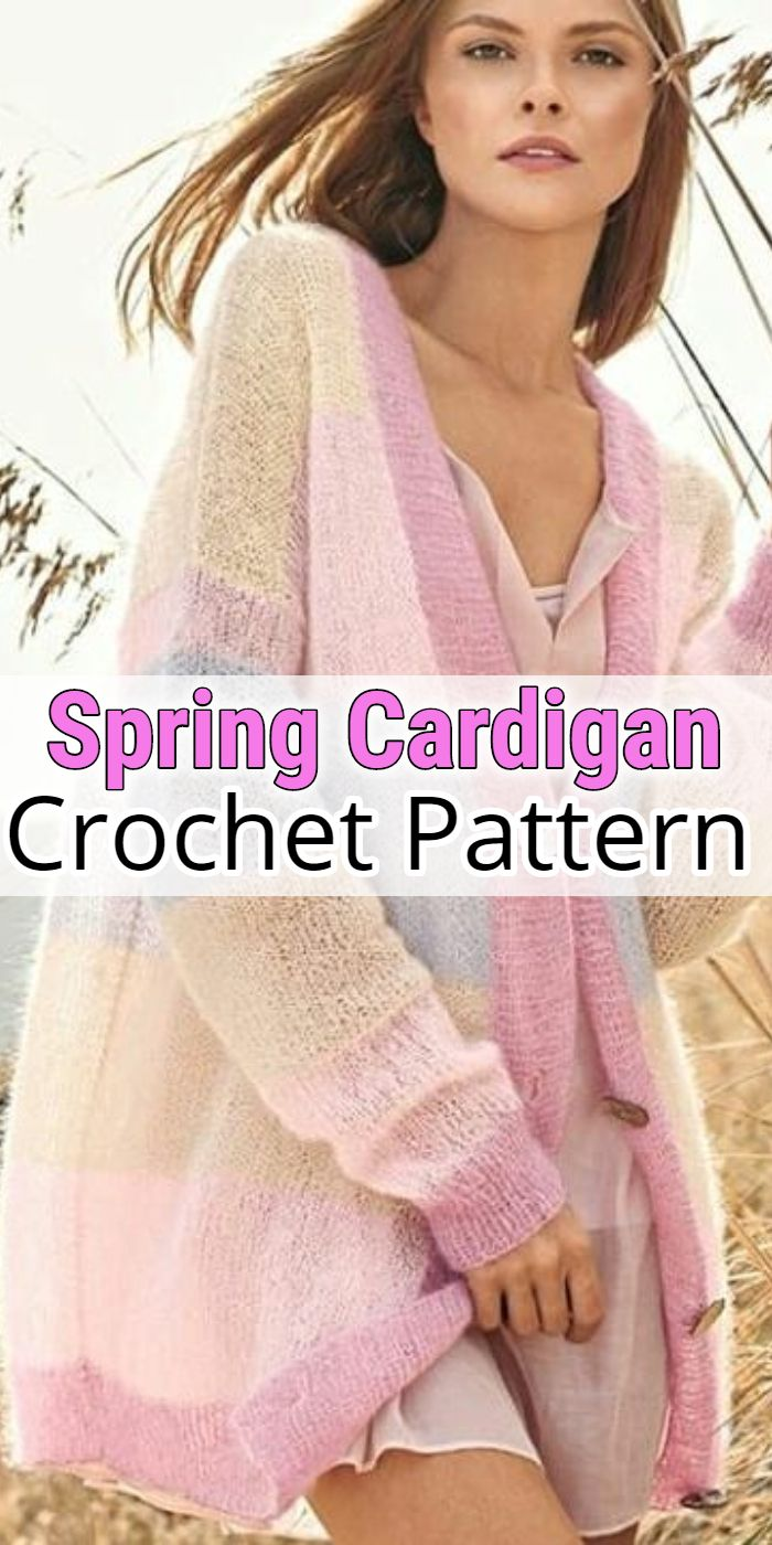 Spring Crochet Cardigan Patterns